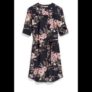 41 Hawthorn Blue Pink Floral Dress